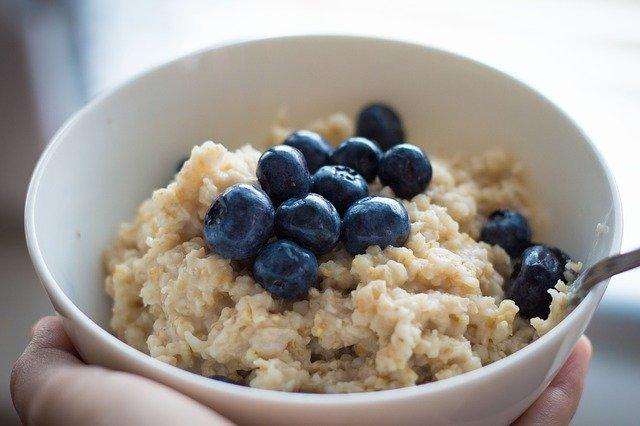 Het beste gezonde ontbijt met voldoende vezels