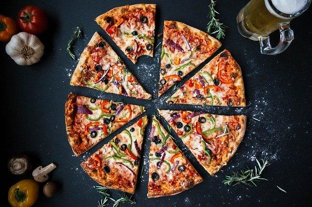 Is een pizza gezond?